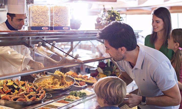 Costa Diadema - restaurant bufet