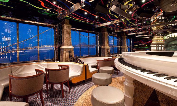 Carnival Elation - Piano Bar