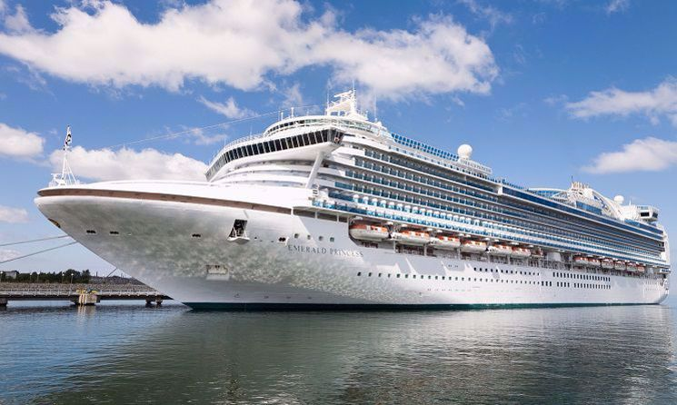 emerald princess vas croaziera
