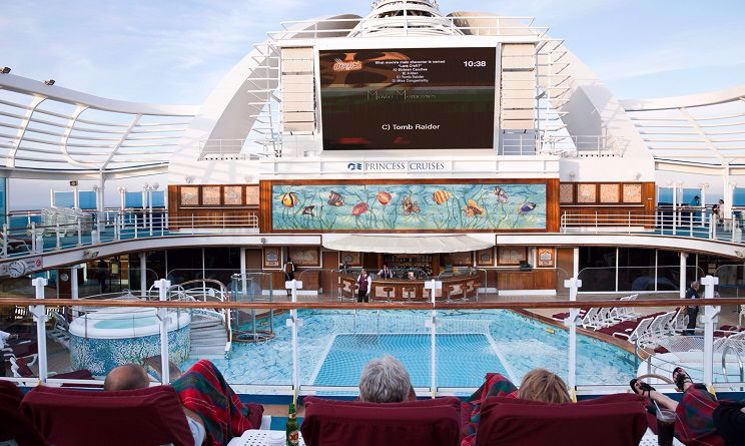 emerald princess cinema in aer liber