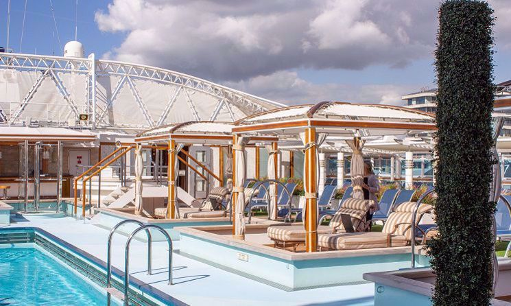 royal princess piscina