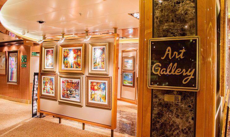 royal princess galerie arta