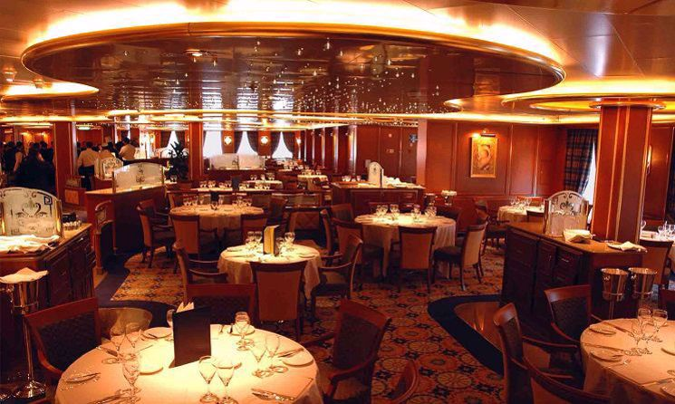 ruby princess restaurant