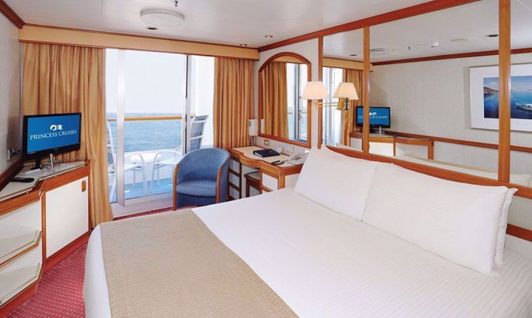 sea princess balcon