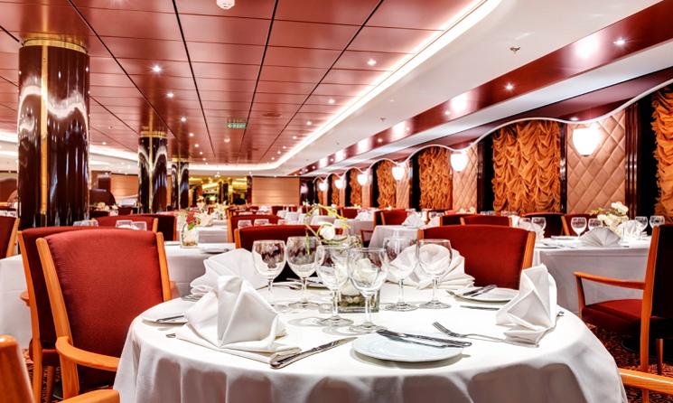 Restaurant MSC Lirica