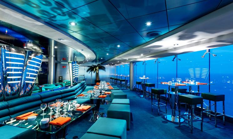 Sushi Restaurant MSC Lirica