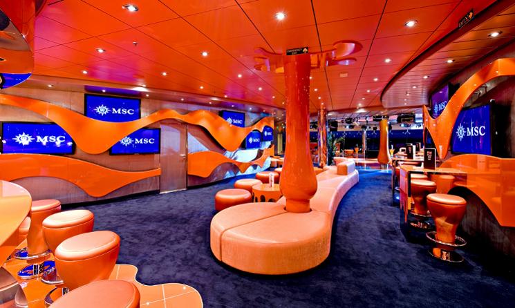 Lounge MSC Splendida