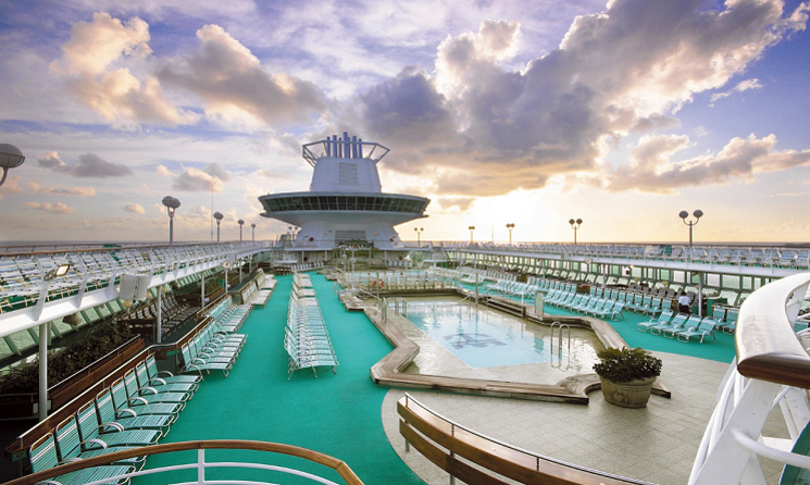 Piscina exterioara Majesty of the Seas