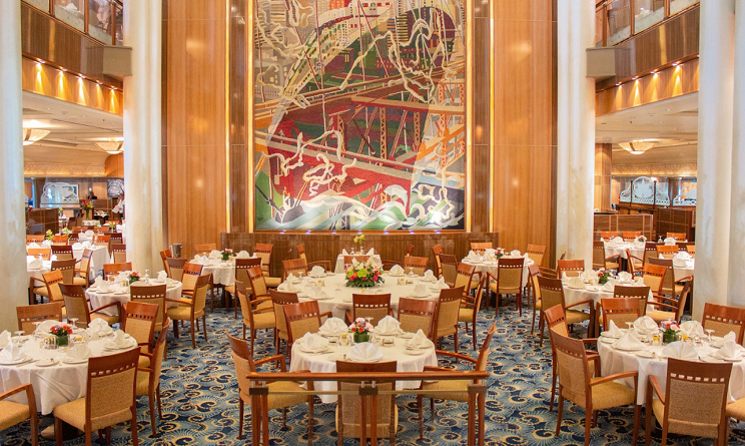 Restaurant Vas Queen Mary 2